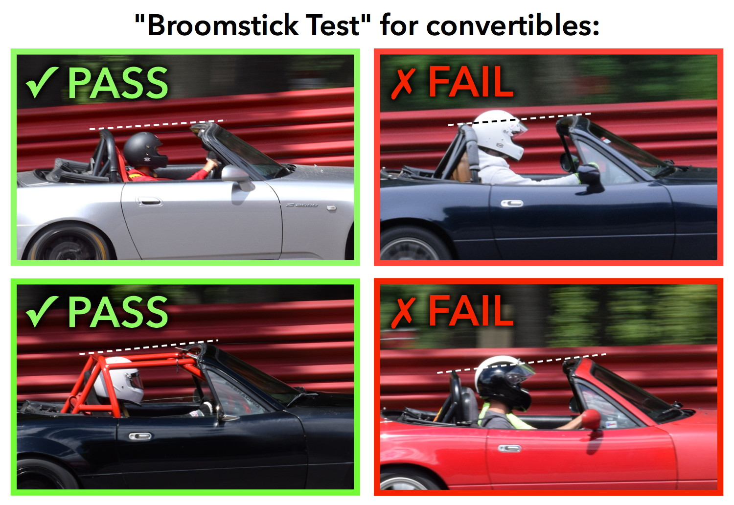 broomstick rule