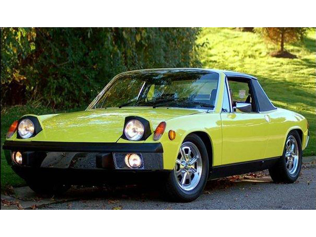 Tom Bliznik's restored 1974 914